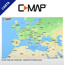 C-MAP DISCOVER M-EM-Y203-MS Adriatic & Ionian Seas