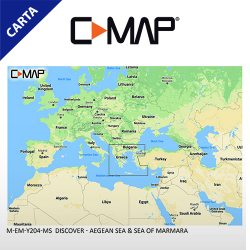 C-MAP DISCOVER M-EM-Y204-MS Aegean Sea & Sea of Marmara