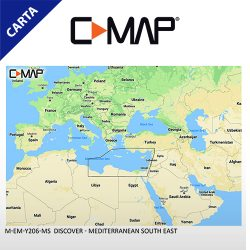 C-MAP DISCOVER M-EM-Y206-MS Mediterranean South East