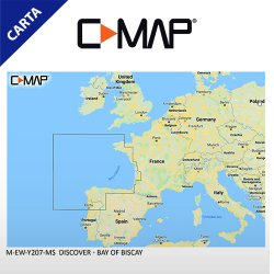 C-MAP DISCOVER M-EW-Y207-MS Bay of Biscay