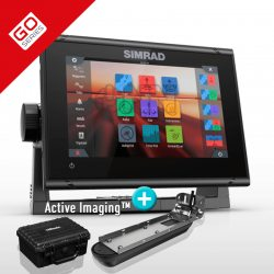 Simrad GO9 XSE con Transductor Active Imaging 3 in 1
