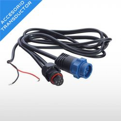Adaptador Lowrance Transductor Conector Azul a Uniplug