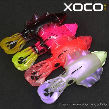 Señuelo Vinilo Jigging a la Carta Xoco JLC 120 gr