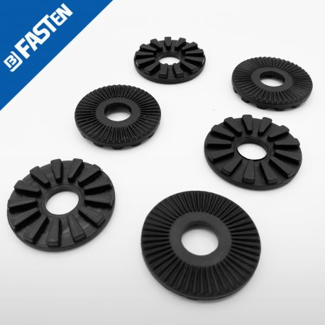 Arandelas ajuste inclinación negras DP230B, 6 unidades