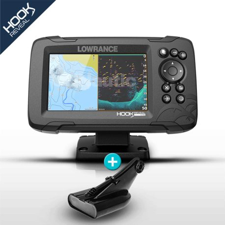 Lowrance HOOK Reveal 5 HDI con transductor 50/200 600w con DownScan