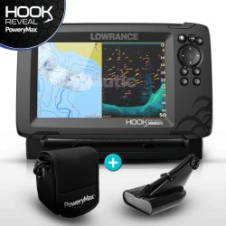 Lowrance HOOK Reveal 7 PoweryMax Ready con Transductor HDI 50/20