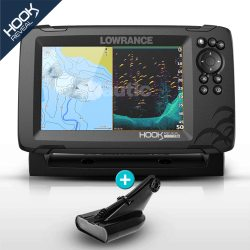 Lowrance HOOK Reveal 7 HDI con transductor 50/200 600w con DownScan