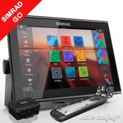 Simrad GO12 XSE con Transductor Active Imaging 3 in 1