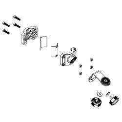 Soporte montaje ActiveTarget en motor eléctrico