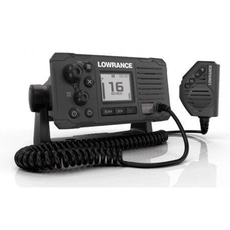 Emisora VHF Lowrance Link-6 color negro