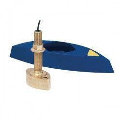 Transductor pasacascos airmar b45 bronce conector 7 pin azul (600w)