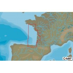 Cartografia C-MAP MAX-N+ LOCAL SANTANDER TO BRIGNEAU West European Coasts