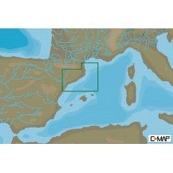 C-MAP MAX-N+ LOCAL PEÑISCOLA TO PORT LA NOUVELLE Mediterranean and Black Sea