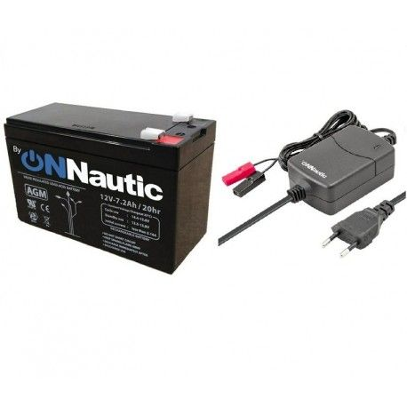 Pack Batería 7Ah + Cargador Inteligente 1Ah