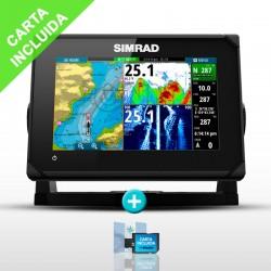 Sonda GPS Plotter Simrad GO7 XSE