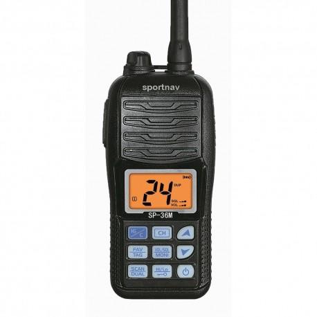 Radio VHF Portátil SportNav Homologada SPO-36M