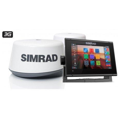PACK RADAR Sonda GPS Plotter Simrad GO7 XSR + 3G