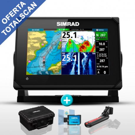 Sonda GPS Plotter Simrad GO7 XSE TotalScan