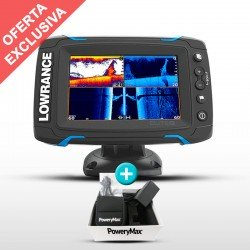 Sonda GPS Plotter Elite-5 Ti + Batería PoweryMax