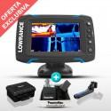 Sonda GPS Plotter Elite-5 Ti TotalScan + Batería PoweryMax PX10