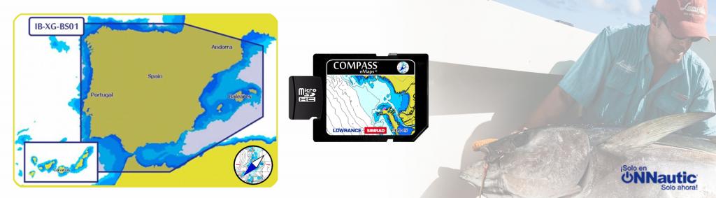 Compass eMaps Saltwater