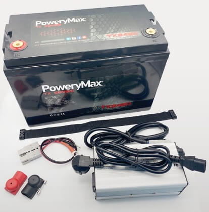 Accesorios de batería PoweryMax TX2480