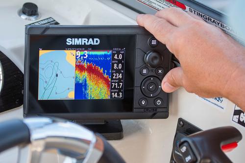 Sonda GPS Plotter Simrad Cruise-5 83/200