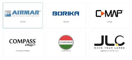 Algunas de las marcas con las que trabajamos en ONNautic.