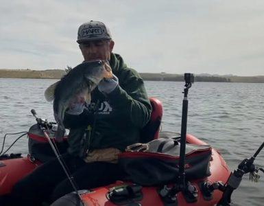 Jornada de pesca probando Active Target de Lowrance