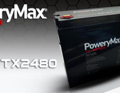 Batería PoweryMax TX2480