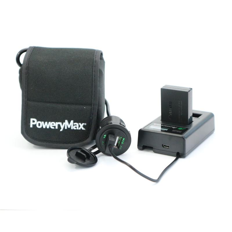 Adaptador PoweryMax Doble USB PX25