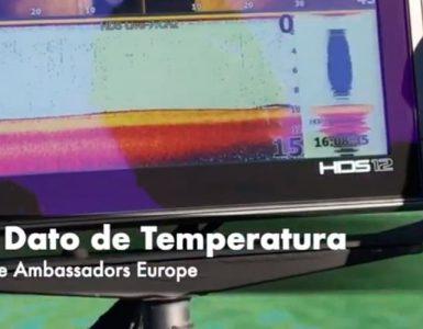 configurar dato temperatura sonda lowrance