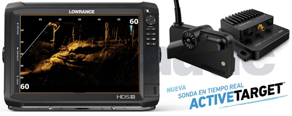 Sonda GPS Plotter LOWRANCE HDS-12 Carbon + Active Target
