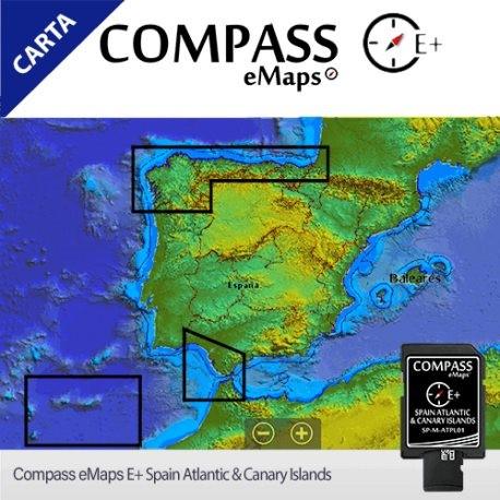 imagen de la carta Compass E+ Spain Atlantic & Canary Islands