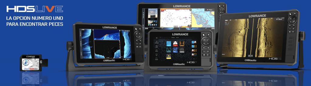 Pack Radar Sonda GPS Plotter Lowrance HDS-9 Live + Halo20