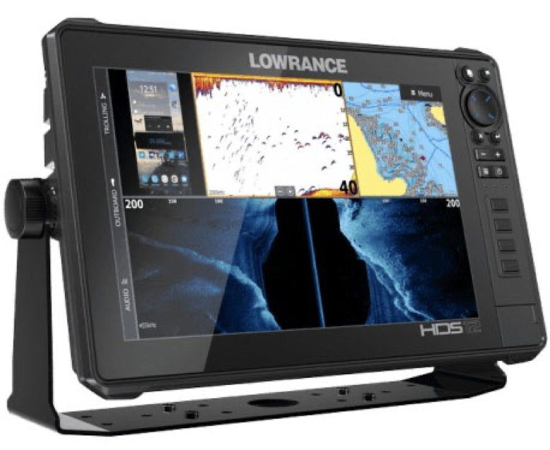 Pack Radar Sonda GPS Plotter Lowrance HDS-12 Live + Halo20+