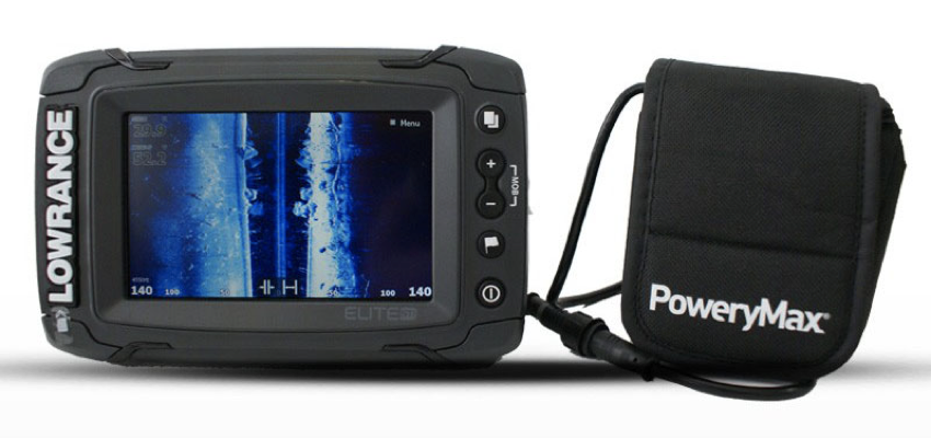 sonda gps lowrance con batería powerymax