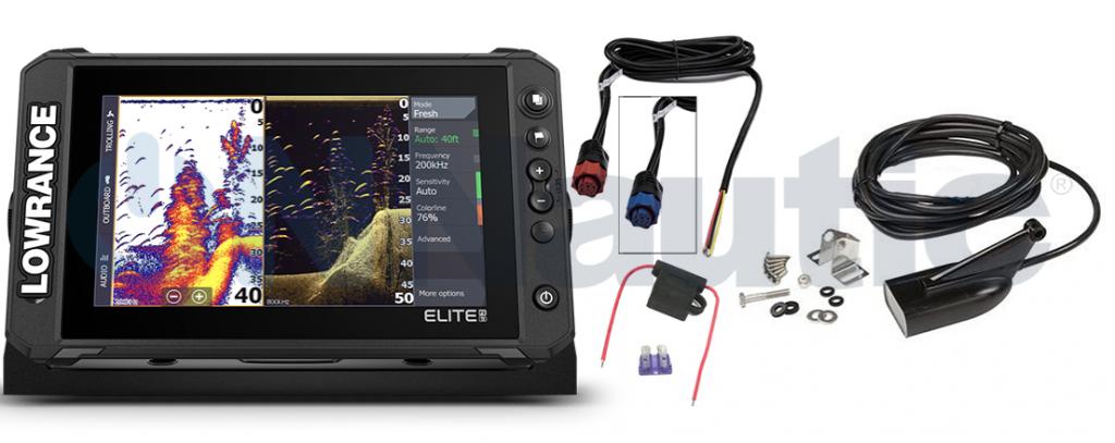 accesorios sonda lowrance elite fishing system