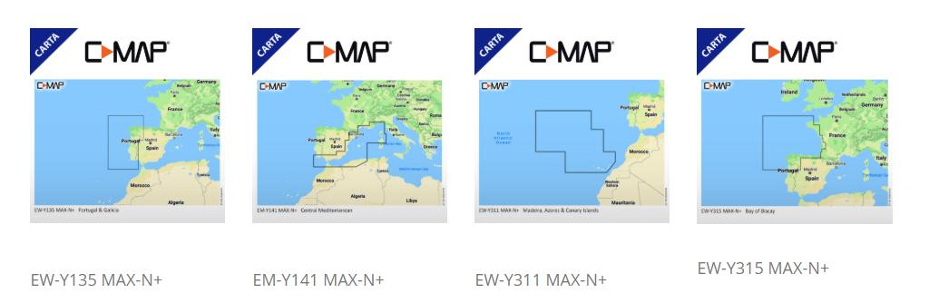 Cartografías CMAP Lowrance ONNautic