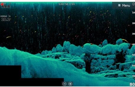 Imagen de ejemplo de una sonda náutica