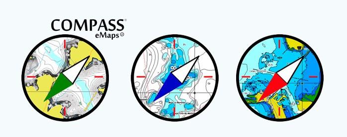 Logo cartografías compass emaps