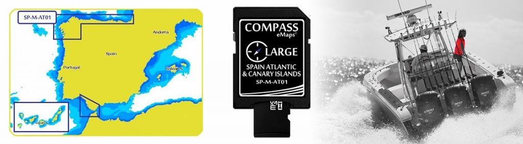 Compass eMaps Spain Atlantic & Canary Islands