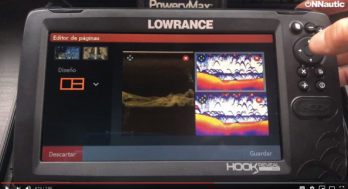 modificar multitarea Lowrance Hook Reveal