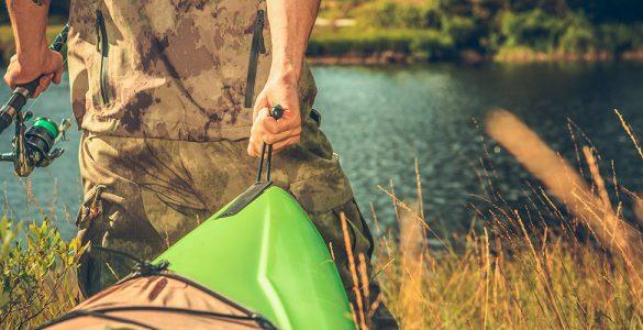 ¿Cómo pescar en kayak?