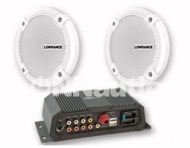 sistema audio marino sonichub-2 lowrance-simrad-altavoces