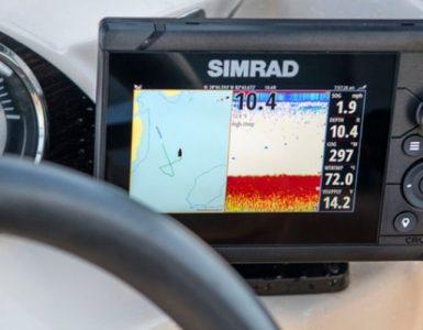 sondas gps plotter simrad cruise