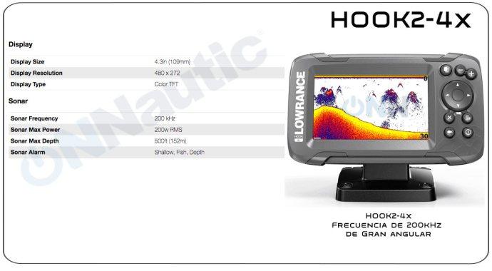 Lowrance Hook2-4x