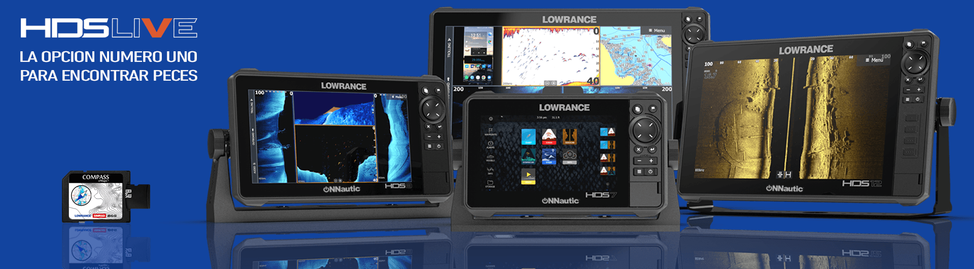 Lowrance HDS Live ONNautic