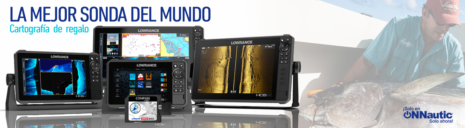 Banner Lowrance HDS LIVE