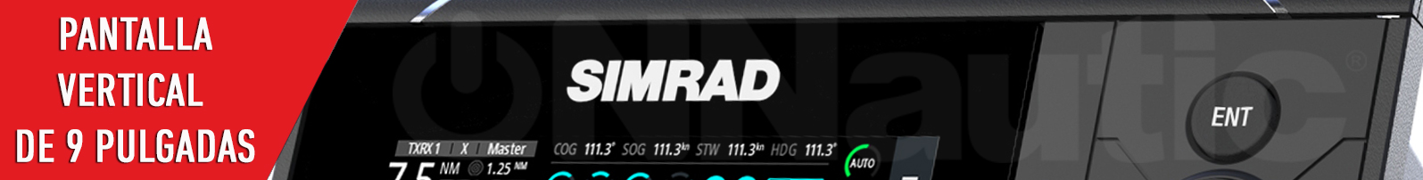 Pantalla Simrad S2009